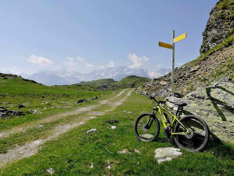 E bike laghi di Champlong